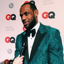 Lebron-James-GQ-All-Star-2014-NBA-All-Star-Weekend-Green-Paisley-Tuxedo