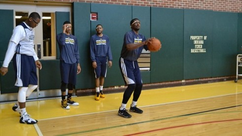 Pacers wear Google Glass