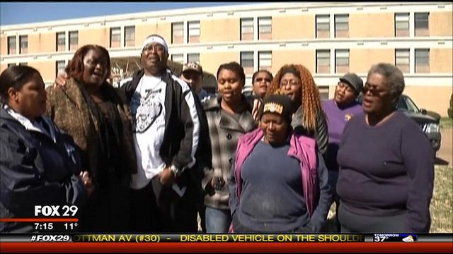 Walter Williams' Family on Fox 29 News