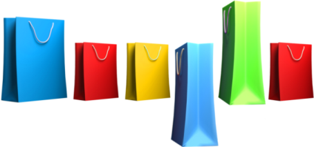 Google shopping bags