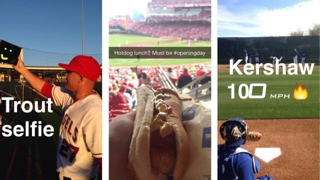 Major League Baseball on SnapChat
