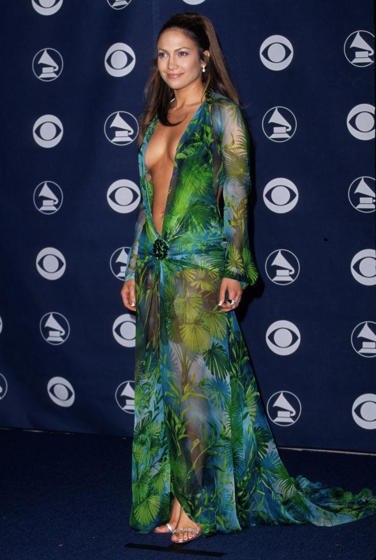 The dress broke internet - J Lo Dress