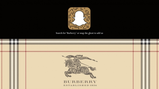 Burberry-Snapchat