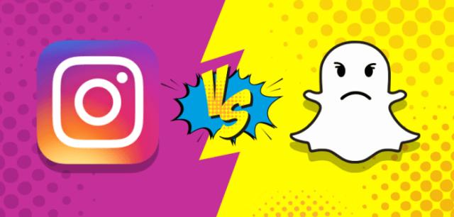 Insta-Vs-Snapchat