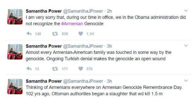 Samantha Power Twitter