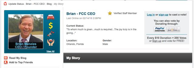 Brian Menzies profile